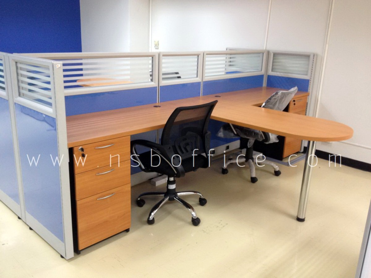 Workstation partition desk